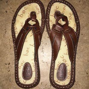 BOC Brown Thong Sandals